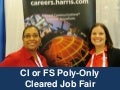 May 5 CI or FS Poly-Only Cleared Job Fair