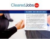 Cleared Job Seeker Guide