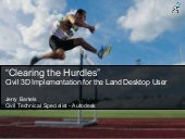 Clearing the-hurdles