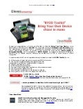 """BYOD Toolkit"": Bring Your Own Device chiavi in mano 