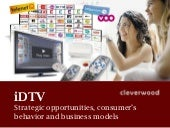 iDTV in Belgium : Strategic opportu...