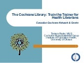 Cochrane Library Training