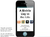 A Mobile Day in the Life: 24 Hours ...