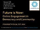 Future is Now - Online Engagement f...