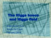 The Higgs boson and Higgs field