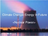 Climate change energy in future
