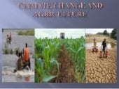 Climate Change and Agriculture by M...