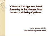 Climate Change and Food Security in...