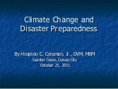 Climate Change & Disaster Preparedn...