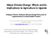 Climate change effects and their im...