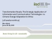 eTransform Africa: ICTs and Climate...