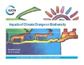 Climate change impacts on biodivers...