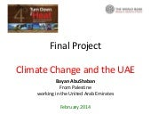 Climate change in the uae b.abu shaban
