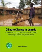 Climate change in Uganda: Insights ...