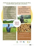 Climate change, agriculture and food security: Identifying research needs and priorities in East Africa