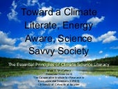 Toward a Climate Literate, Energy A...