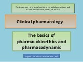Clinical pharmacology.Basics.