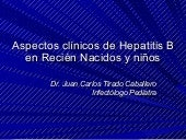 Clinicos de hepatitis b