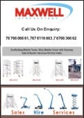 Maxwell Infra Systems, Bengaluru, Industrial Safety Handling Equipments