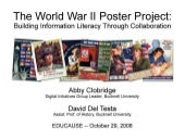 World War II Poster Project