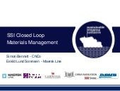 SSI - Closed Loop Materials Managem...