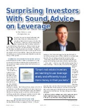 Surprising Investors with Sound Adv...