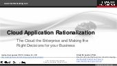 Cloud Application Rationalization- ...