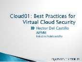 Cloud01: Best Practices for Virtual...