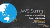AWS Summit Sydney 2014 | The Science of Saving: A Guide to Buying EC2 Reserved Instances - Session Sponsored by Cloudability