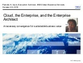 Cloud, the Enterprise, and the Ente...