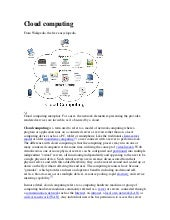 Cloud computing tarea