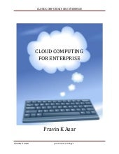 Cloud computing for enterprise