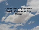 Cloud Computing & Security Concerns