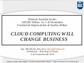 Cloud computing will change business