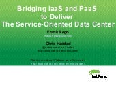 Bridging IaaS With PaaS To Deliver ...