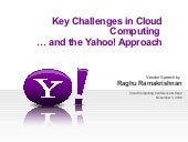Key Challenges in Cloud Computing a...