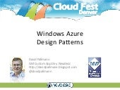 CloudFest Denver Windows Azure Desi...