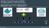 Docker, Cloud Foundry & BOSH: Reimagining applications runtime and packaging