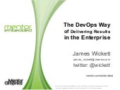 The DevOps Way of Delivering Result...