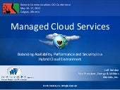 Managed Cloud Services CIO Conferen...