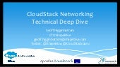 Cloud stack networking   shapeblue technical deep dive