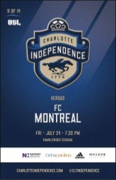 Independence vs FC Montreal 7/24/15