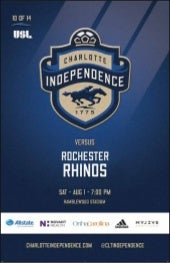Independence vs Rochester Rhinos 7/31/15
