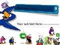 Club Penguin Abstract Good Times Template Inclouds Titel And Sub Titel