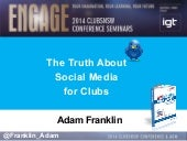 Clubs NSW - The Truth About Social Media for Clubs