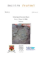 Archaeological Report - Clynoe, Co....