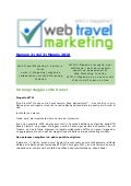 N° 21 Web Travel Marketing Magazine