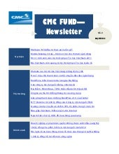 Cmc fund   newsletter q3-2011