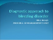 CME: Bleeding disorders - Diagnosti...