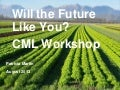 Will the Future Like You? CML Workshop